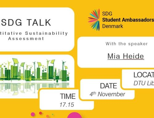 SDG Talk: Quantitative Sustainability Assessment w/ Mia Heide