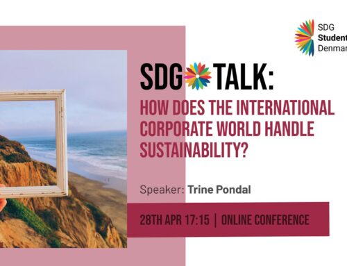 SDG Talk: How does the international corporate world handle sustainability?